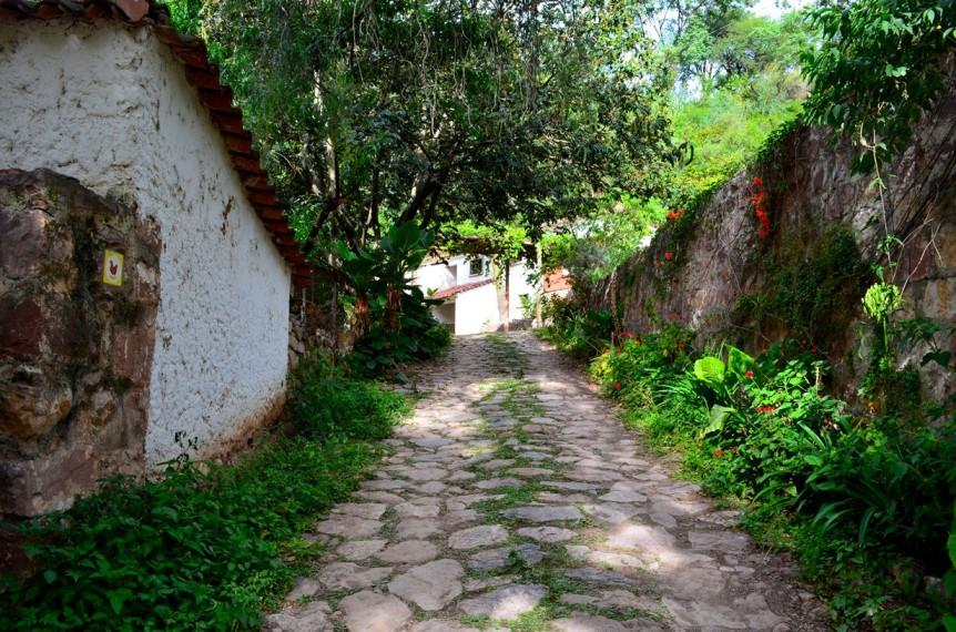 Einfahrt zur Hacienda